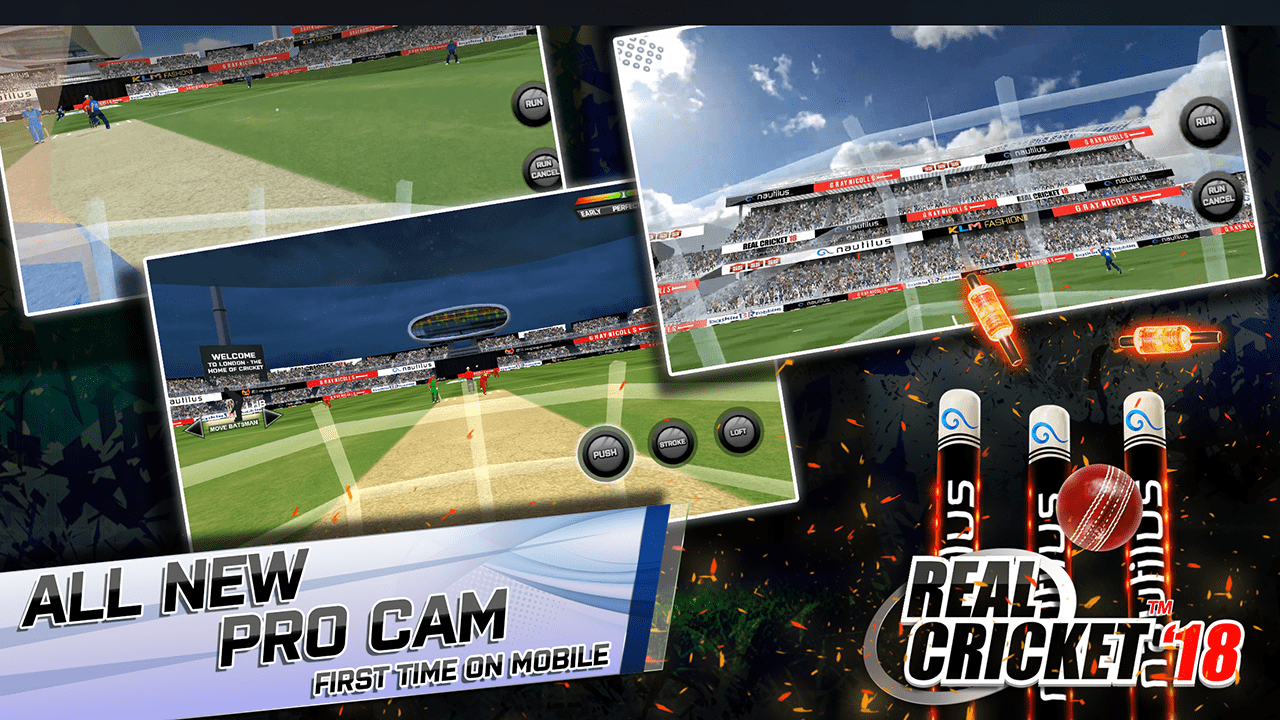 Download Real Cricket 18 on PC – Play Android Games on Windows / Mac 12