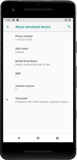 Android P on PC