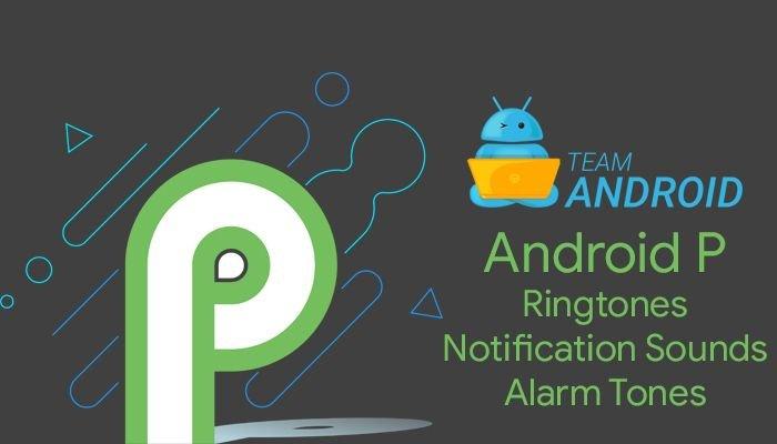 Download Android P Ringtones
