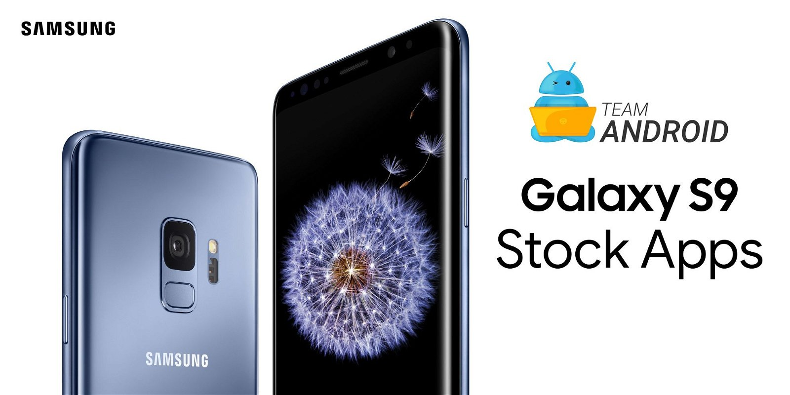Galaxy S9 Stock Apps