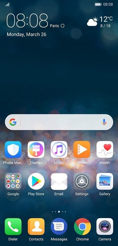 Firework - Download Huawei P20 Themes
