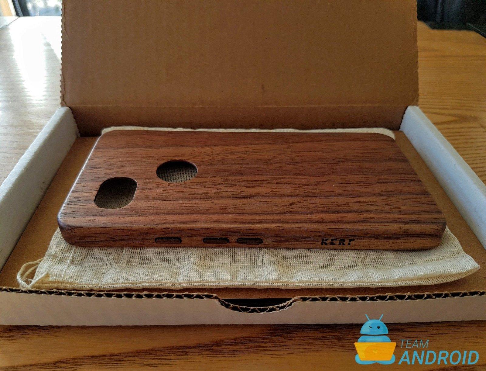 competitive price 6c2fc 2132d KerfCase Wood Case Review for Google Pixel 2 XL