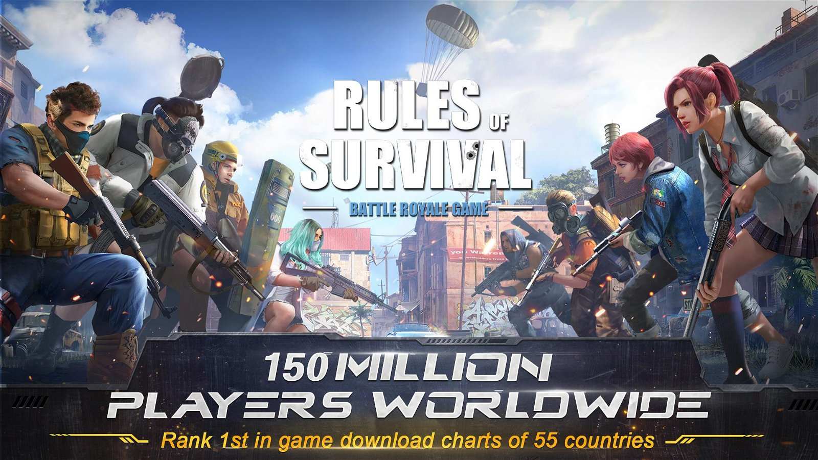 Play Rules of Survival on PC (Windows and Mac)