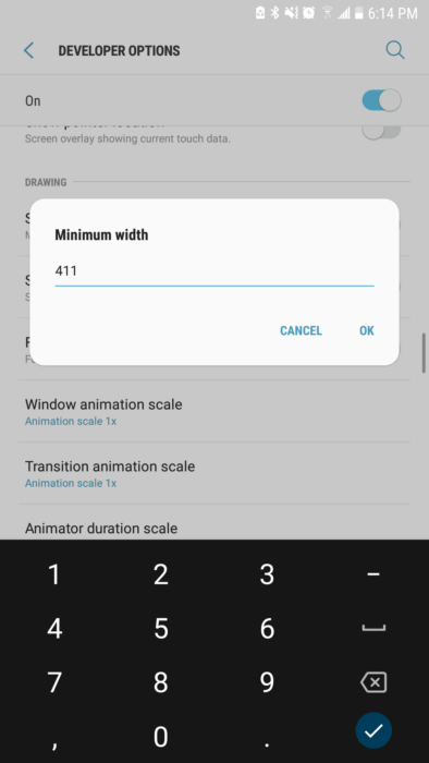 How to Change DPI Density on Android 12