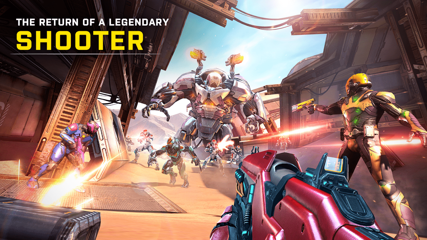 Play Shadowgun Legends on PC – Download Android Games on Windows / Mac 10