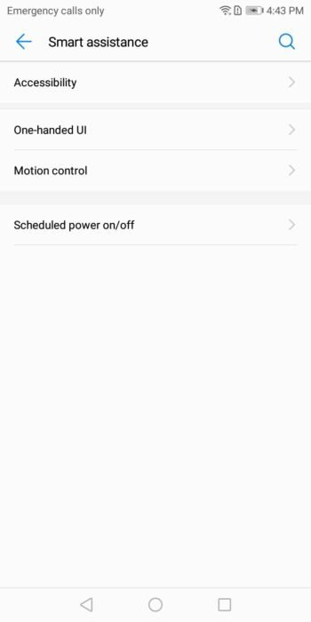How to Enable Three-Finger Screenshot on Huawei P20 11