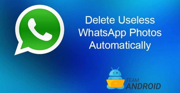 Delete WhatsApp Images