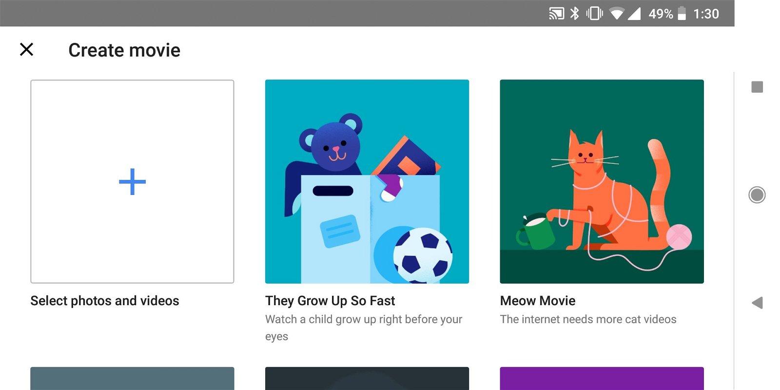 Movie Editor - Google Photos