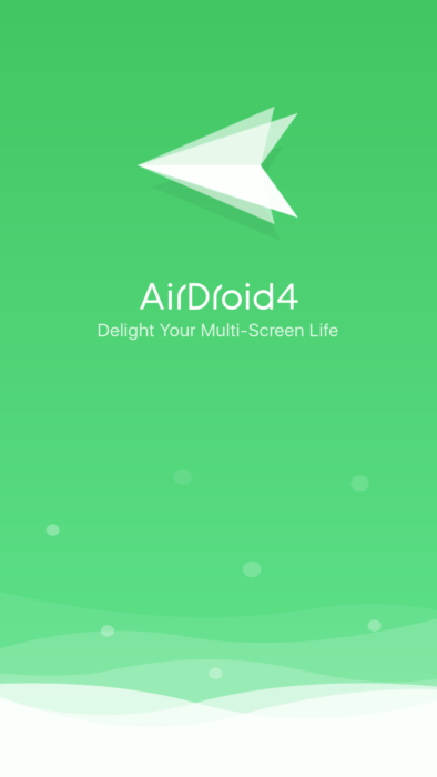 Transfer files wirelessly with AirDroid
