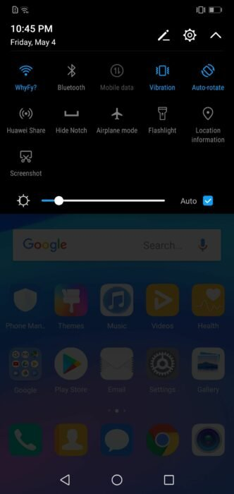 How to Remove or Hide Notch on Huawei P20 Lite 31