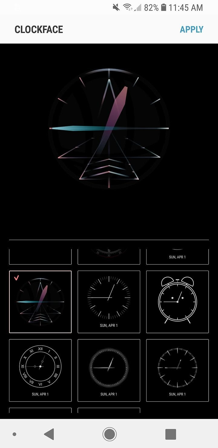 Apply New Clock Faces for Always on Display in Samsung Phones 1