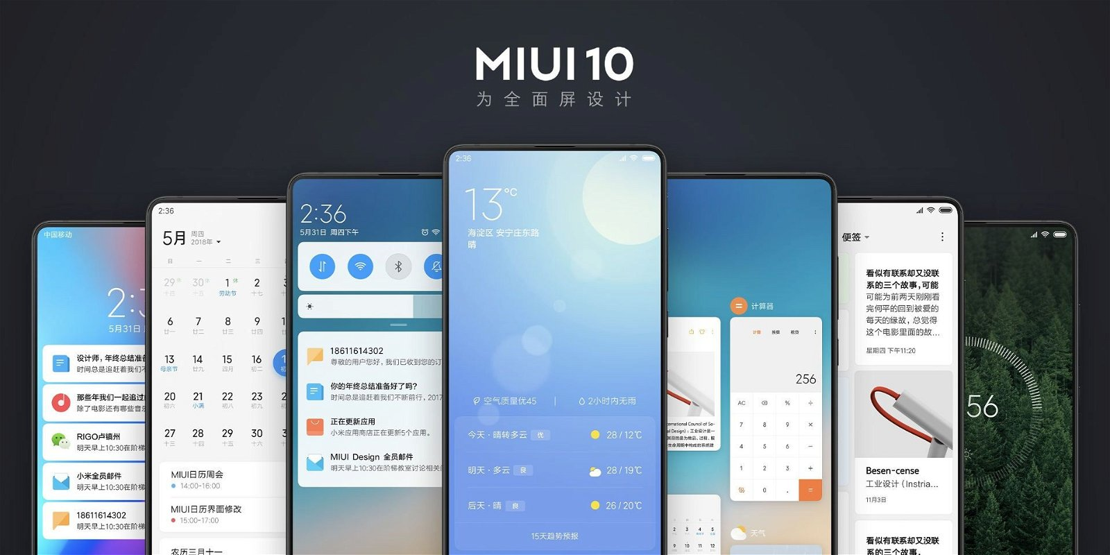 MIUI 10 Global Beta Rollout Official Schedule for Xiaomi Devices 1