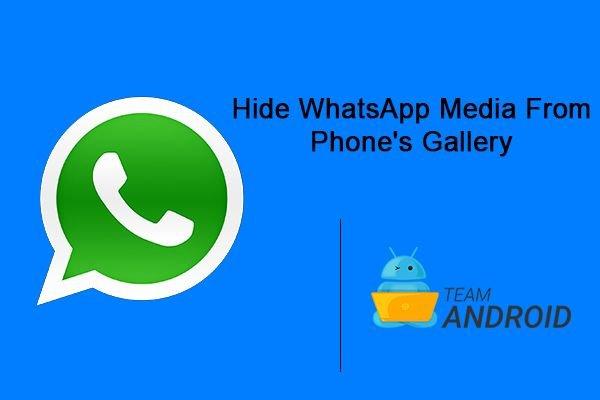 Hide WhatsApp Media