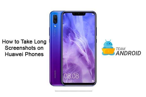 How to Take Long Screenshots on Huawei Phones