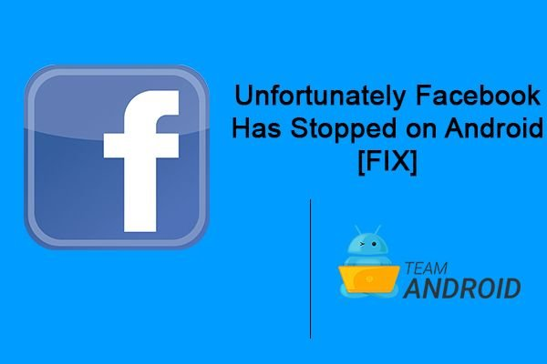 Facebook has stopped