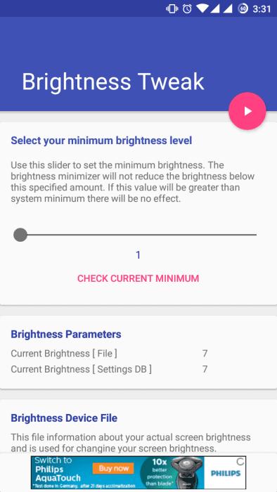 Lower Minimum Brightness Level on Android Phones [Root] 16