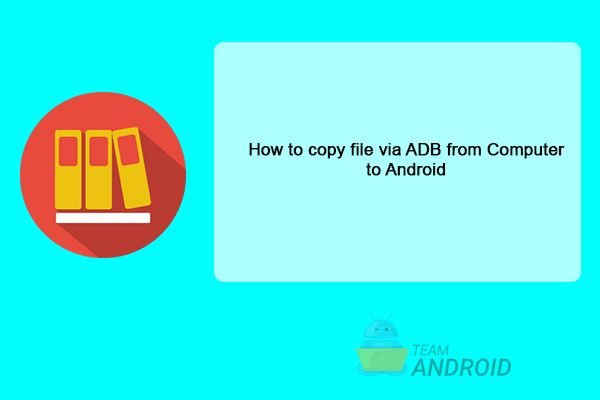 Transfer Files to Computer using ADB