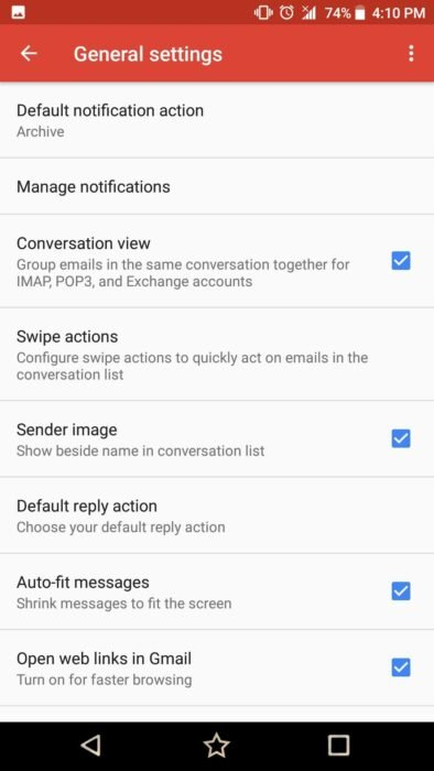 How to Turn Off Gmail Conversation View for Android Devices 9