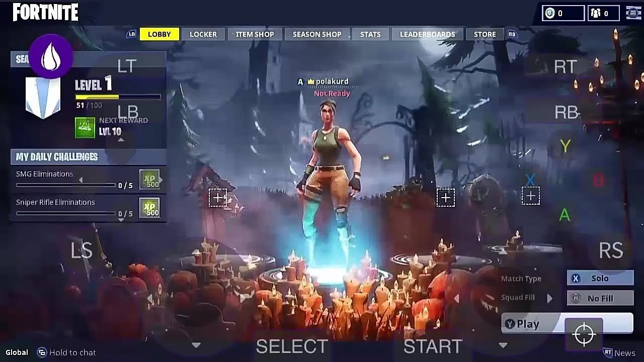 Play Fortnite Android on PC - Download for Windows and Mac 13