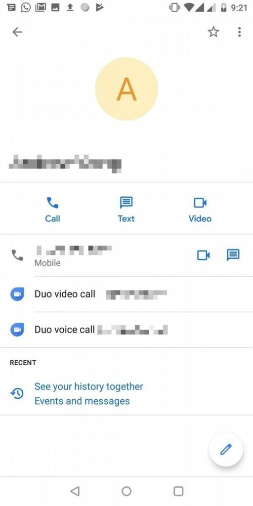 Download Google Contacts 3 0 6 APK - Brings New Material