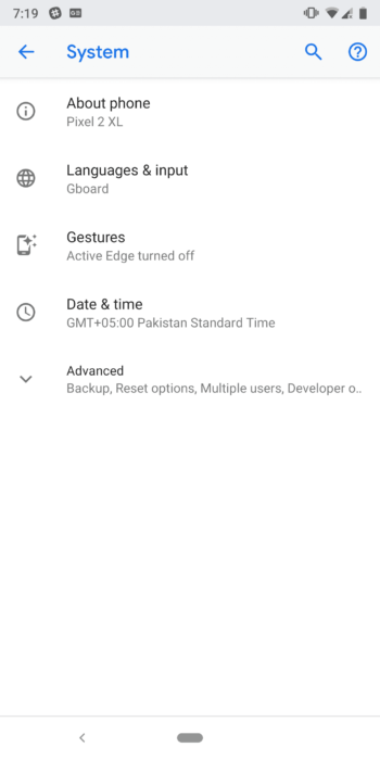 How to Enable Gesture Navigation on Android 9.0 Pie 12