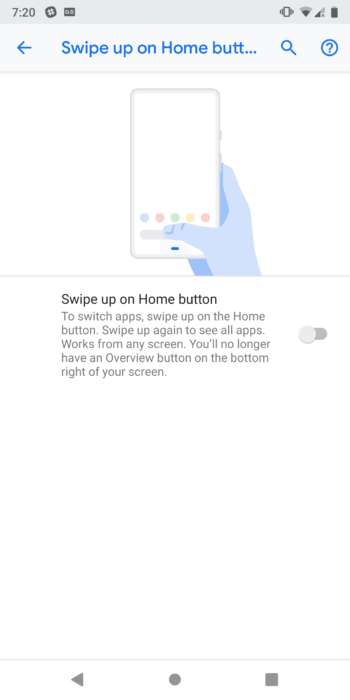 How to Enable Gesture Navigation on Android 9.0 Pie 14