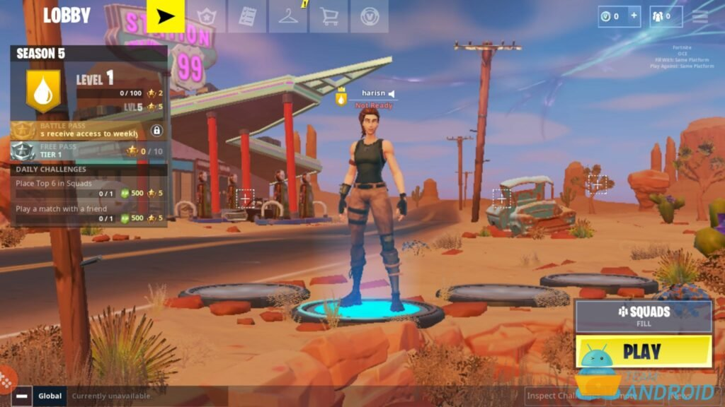Play Fortnite Android with 60 FPS High Settings [Tutorial]