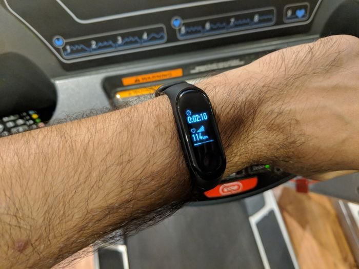 Mi Band 3 - Workout Treadmill Activity Review