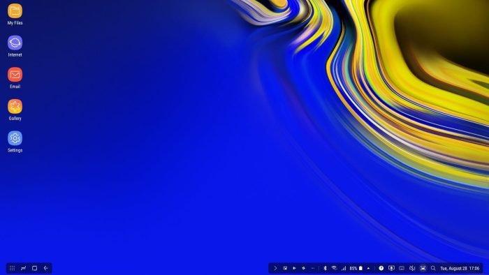 Samsung Dex Screenshot - Samsung Galaxy Note 9