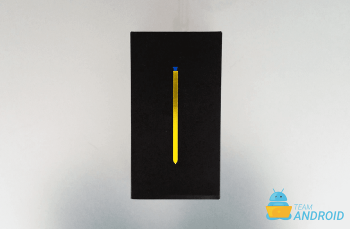 Galaxy Note 9 Box / Packaging