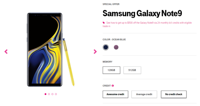 Where to Buy Samsung Galaxy Note 9 in US 1