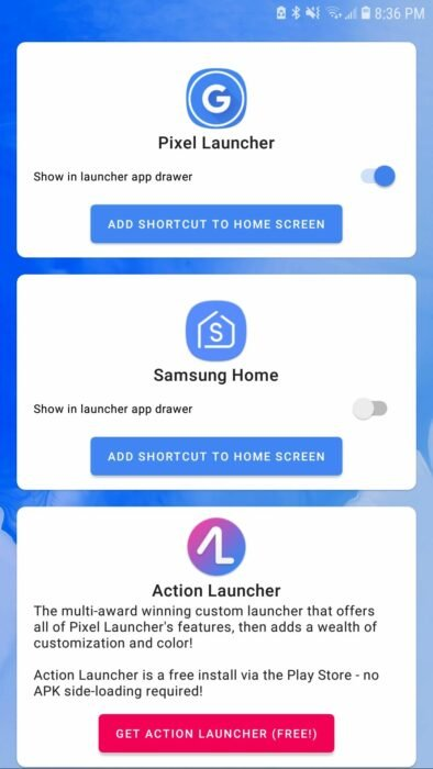 How to Add Launcher Icons in App Drawer 13