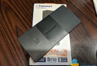 Tronsmart Brio Review - 20,100mAh Power Bank