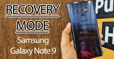Samsung Galaxy Note 9 Recovery Mode