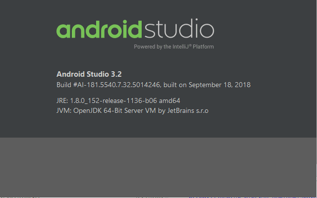 Download Android Studio 3.2