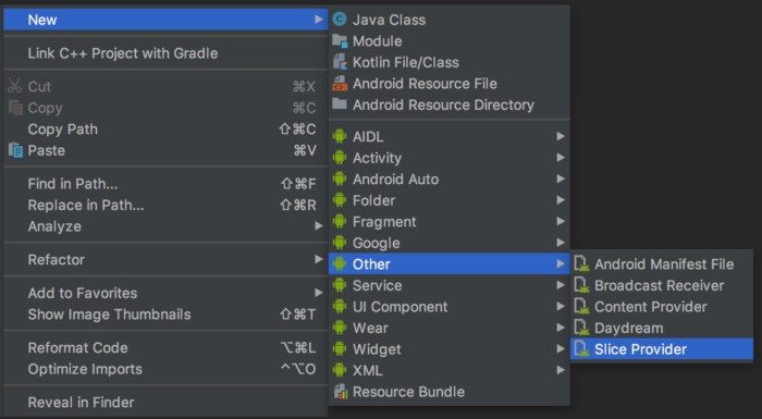 Download Android Studio 3.2 - Brings Energy Profiler, App Bundles and Slices Support 7