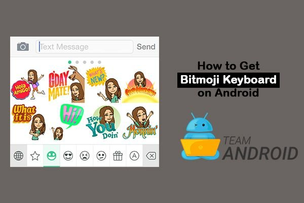How to Get Bitmoji Keyboard on Android 11