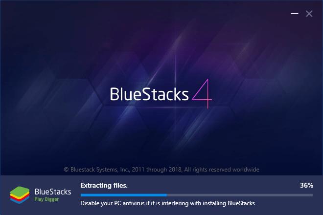 BlueStacks 4 Installation
