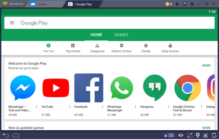 Download BlueStacks 4 for Windows - Run Android Apps Faster than Flagship Phones 12