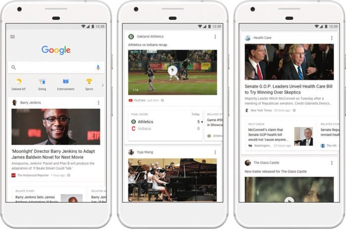Enable Google Now Feed, OnePlus