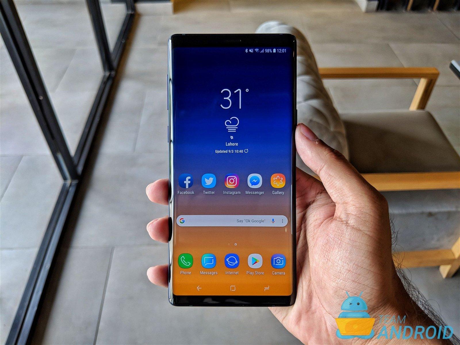 One UI 2.1, Galaxy S9, Galaxy S9+, Galaxy Note 9