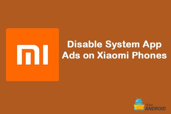 How to Disable System App Ads, Xiaomi