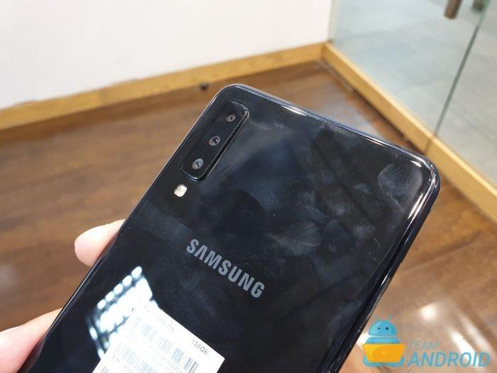 Enter Recovery Mode, Samsung Galaxy A7 (2018)