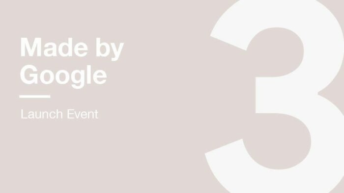 Watch Google Pixel 3 / Pixel 3 XL Live Stream
