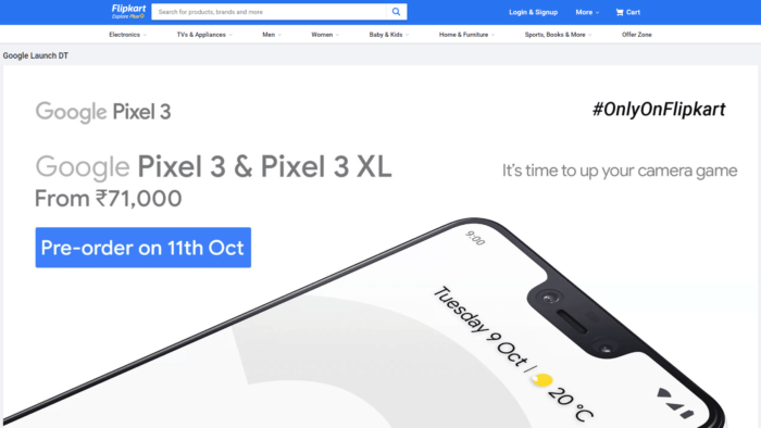 Where to Buy Google Pixel 3 and Pixel 3 XL in India 11