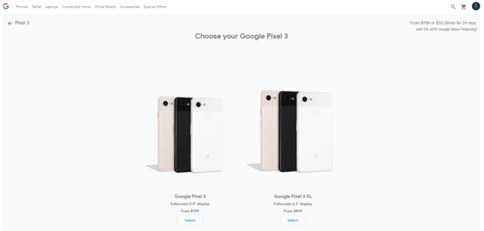 Where to Buy Google Pixel 3 and Pixel 3 XL in US 12