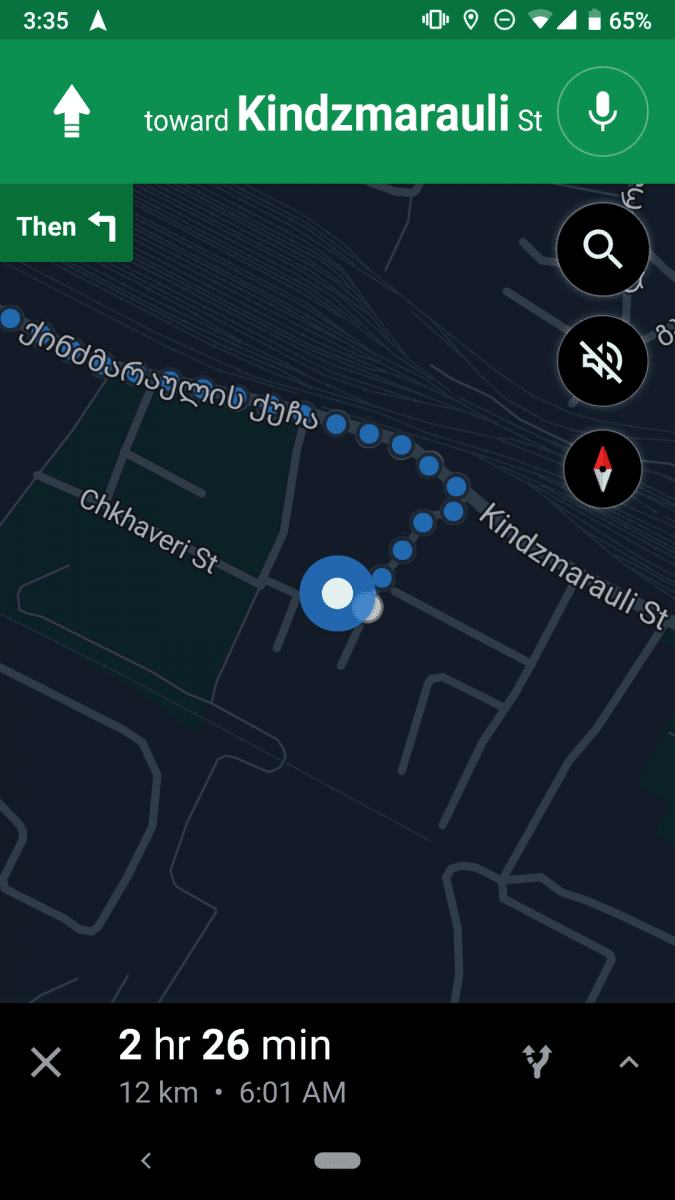 How to Enable Dark Mode in Google Maps 1