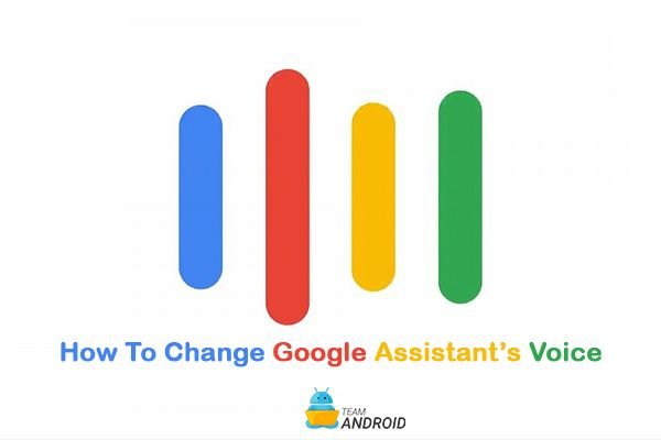Change Google Assistant's Voice