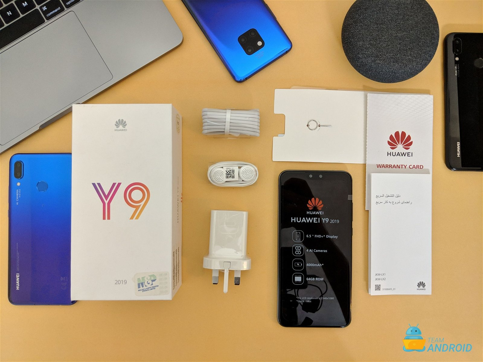 Huawei Y9 2019: Unboxing and First Impressions 5