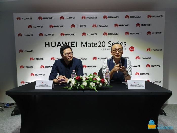 Interview with Huawei's Clement Wong and Jason Chen - Huawei Mate 20 Pro 6